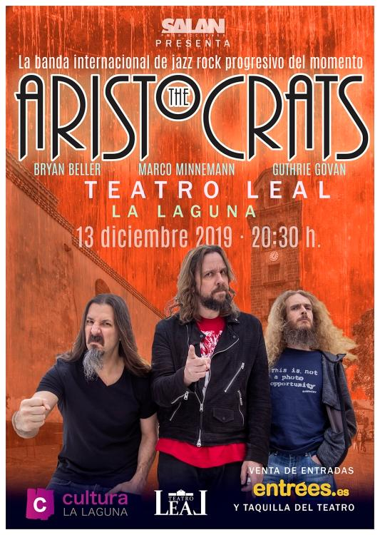 The Aristocrats: You Know What…? - European Tour 2019-2020