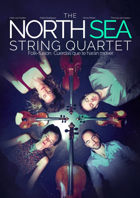 North Sea String Quartet_ Fábrica Fest 2018 en el Teatro Leal